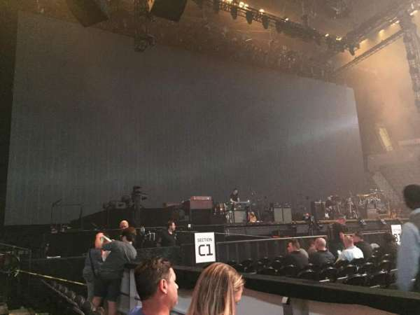 Nassau Veterans Memorial Coliseum, section: 19, row: 1, seat: 1