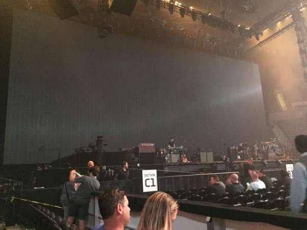 Nassau Veterans Memorial Coliseum, section: 19, row: 1, seat: 1