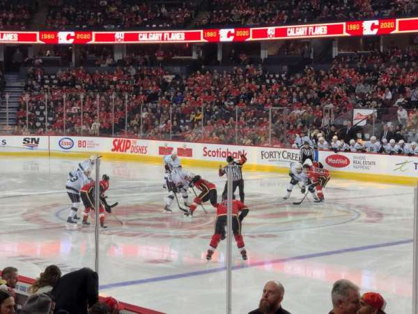 Scotiabank Saddledome, section: 122, row: 9, seat: 10
