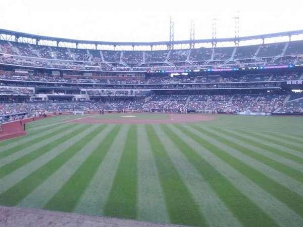 Citi Field, section: 101, row: 8, seat: 8