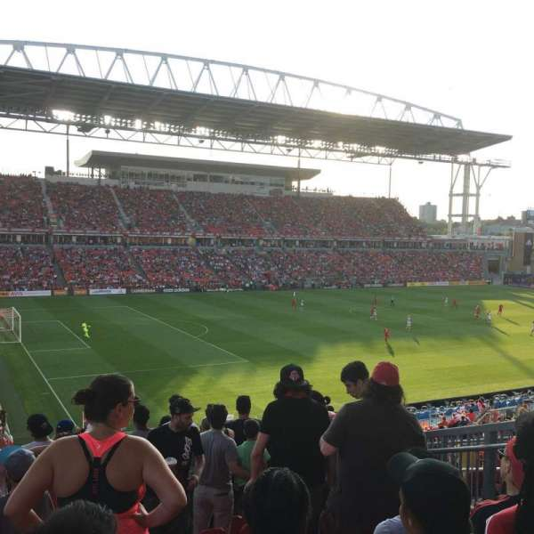 BMO Field, section: 111, row: 30, seat: 11