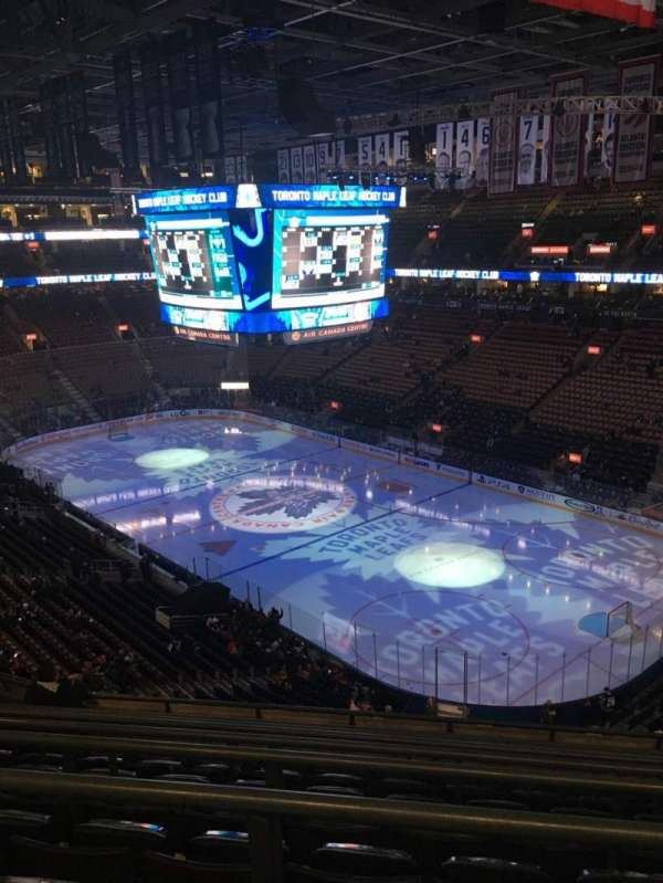 Scotiabank Arena, section: 318, row: 8, seat: 10