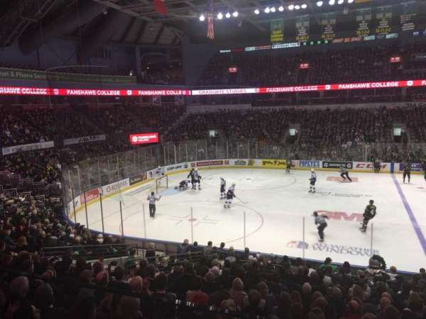 Budweiser Gardens, section: Suite, row: 2, seat: 34