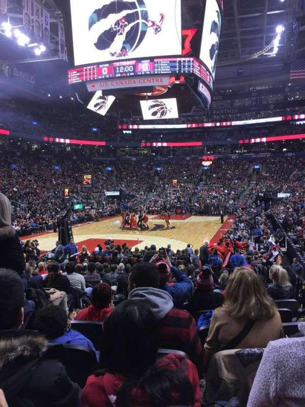 Scotiabank Arena, section: 101, row: 11, seat: 12