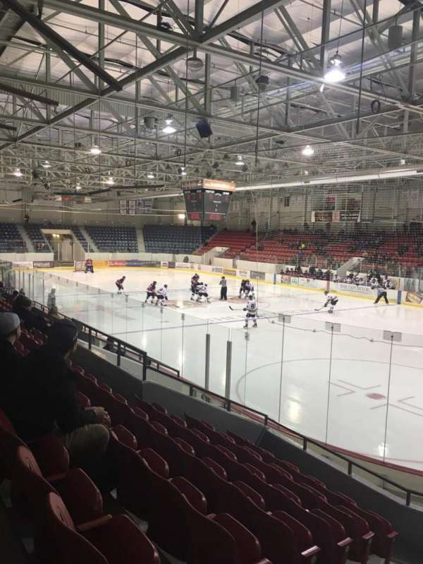 Brantford Civic Centre, section: 102, row: K, seat: 1