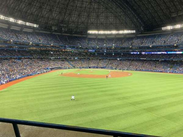 Rogers Centre, section: 205L, row: 2, seat: 105