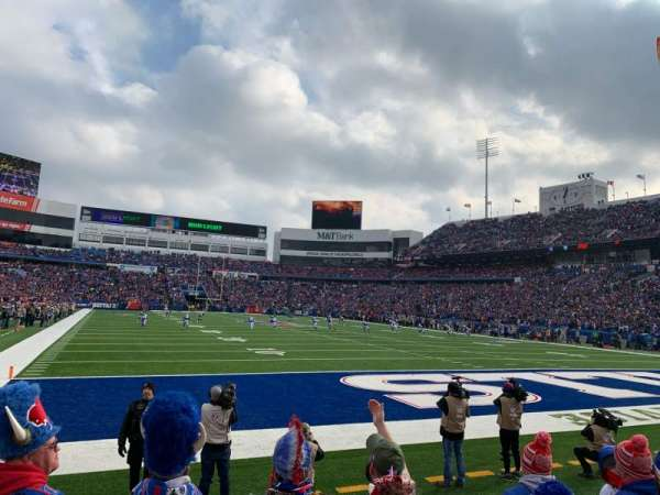 Buffalo Bills Stadium, section: 103, row: 5, seat: 4