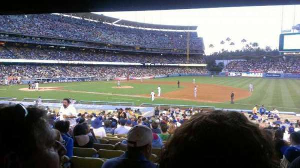 Dodger Stadium, section: 26FD, row: W, seat: 5