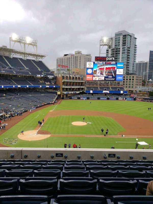 PETCO Park, section: 205, row: 8, seat: 6