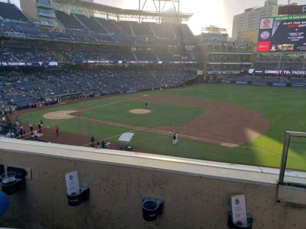 PETCO Park, section: 211, row: 2, seat: 12