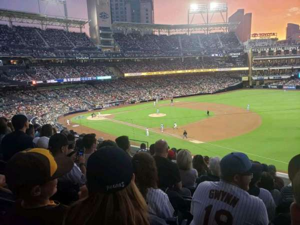 PETCO Park, section: 215, row: 8, seat: 9
