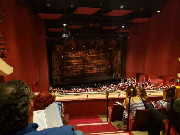 San Diego Civic Theatre, section: Mezzanine, row: T, seat: 31