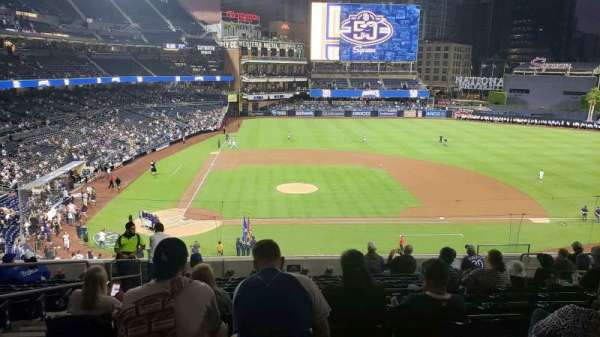 Petco Park, section: 205, row: 12, seat: 4