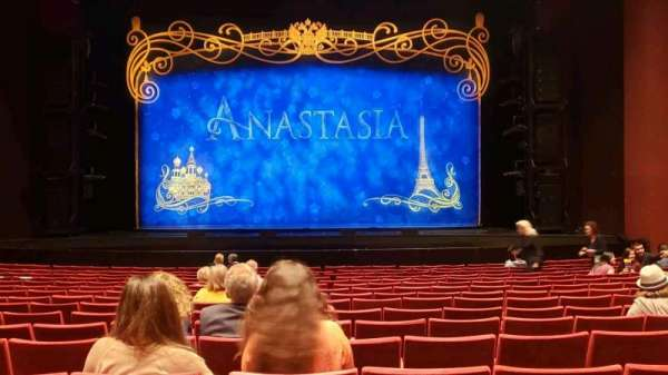 San Diego Civic Theatre, section: Orchestra R, row: O, seat: 6