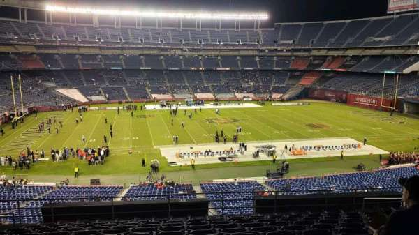 San Diego Stadium, section: C34, row: 12, seat: 6