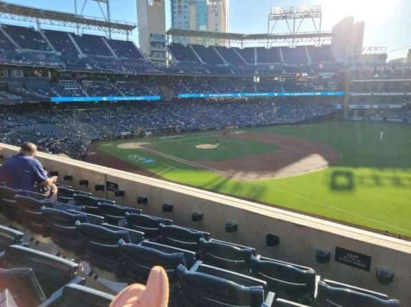 PETCO Park, section: 215, row: 4, seat: 20