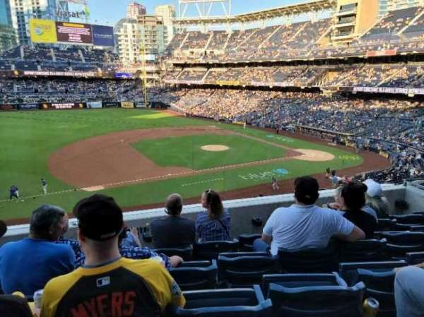 PETCO park, section: 212, row: 5, seat: 10