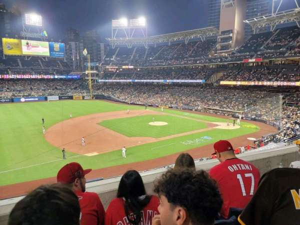 Petco Park, section: 214, row: 3, seat: 11