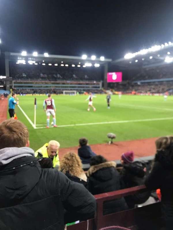Villa Park, section: L7, row: C, seat: 203