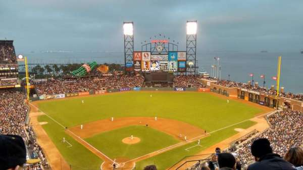 Oracle Park, section: VR314, row: 10, seat: 7