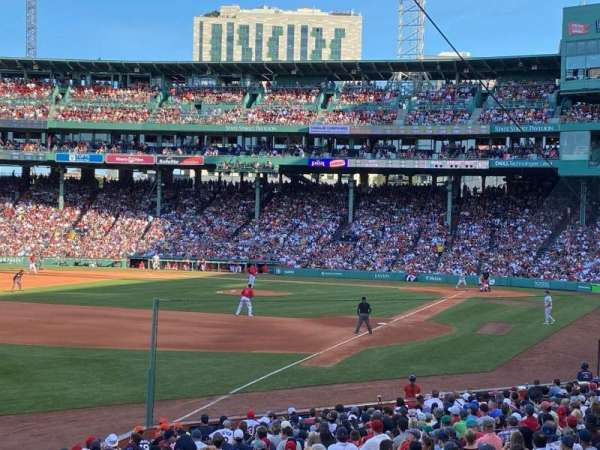 Fenway Park, section: Loge Box 162, row: MM, seat: 12