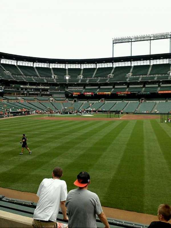 Oriole Park at Camden Yards, section: 98, row: 5, seat: 16-17
