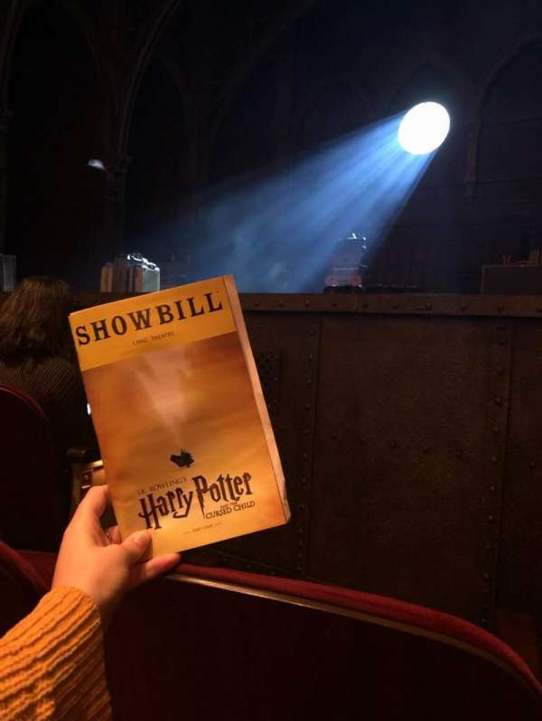 Lyric Theatre, section: Orchestra R, row: B, seat: 16