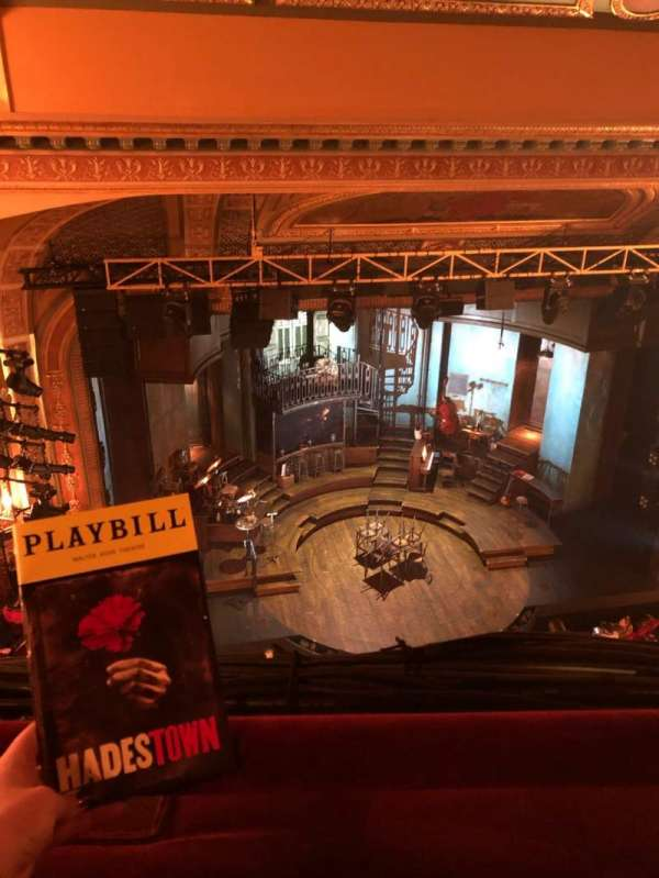 Walter Kerr Theatre, section: Balcony L, row: A, seat: 17