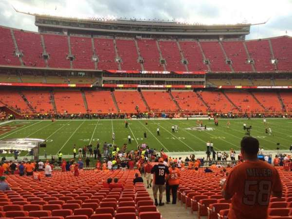 Arrowhead Stadium, section: 106, row: 36, seat: 27