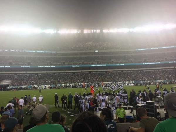 Lincoln Financial Field, section: 138, row: 5, seat: 16,17