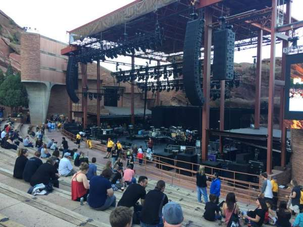 Red Rocks Amphitheatre, section: reserved, row: 13, seat: 3