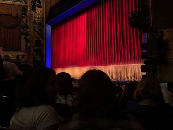 Longacre Theatre, section: Orchestra R, row: J, seat: 13