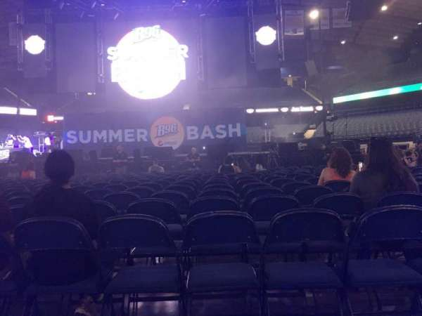 Allstate Arena, section: 3, row: 18, seat: 10