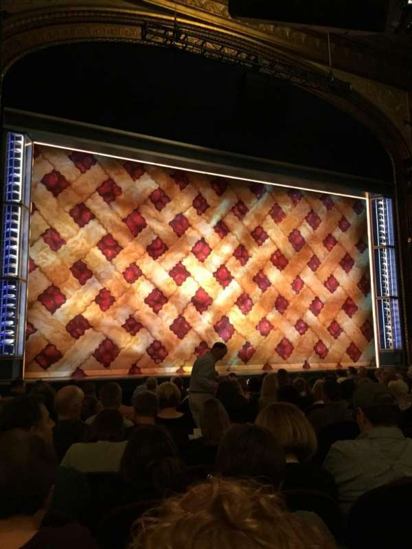 Brooks Atkinson Theatre, section: Orchestra L, row: M