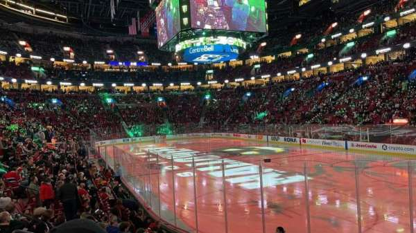 Centre Bell, section: 121, row: FF, seat: 3