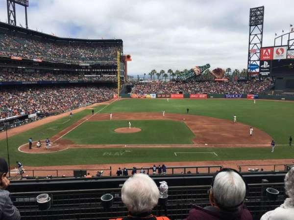 Oracle Park, section: 209, row: C, seat: 12