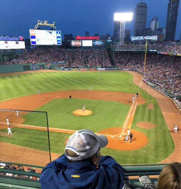 Fenway Park, section: HPPC, row: 2, seat: 15