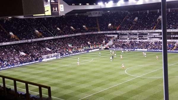 White Hart Lane, section: C, row: 15, seat: 65