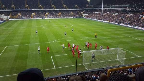 White Hart Lane, section: 44, row: 4, seat: 148