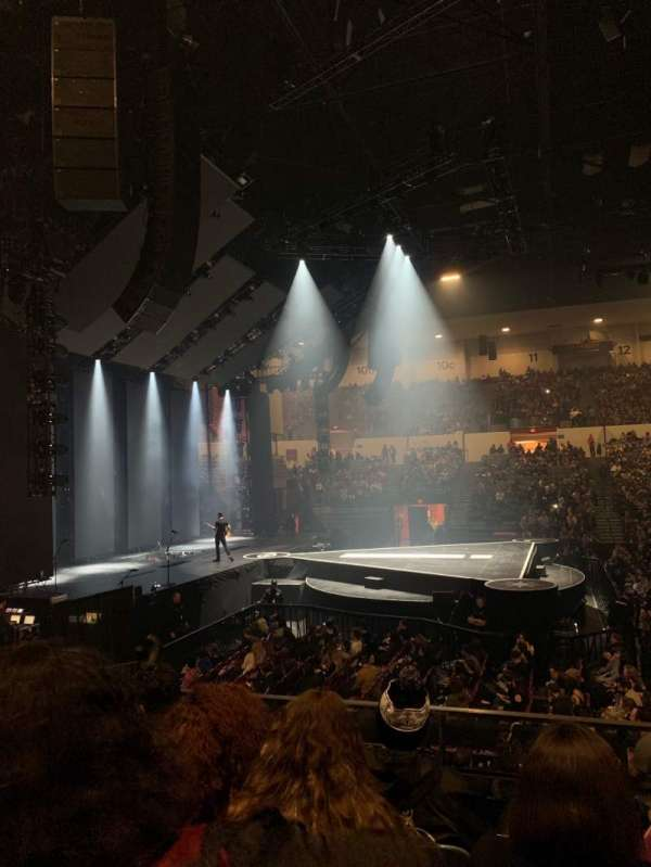 Pechanga Arena, section: L3, row: 4, seat: 3