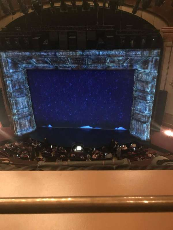St. James Theatre, section: Balcony C, row: A, seat: 103