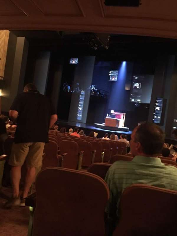 Music Box Theatre, section: Orchestra R, row: O, seat: 2/4