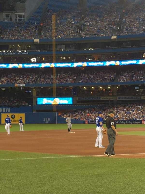 Rogers Centre, section: 129R, row: 3, seat: 3