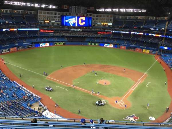 Rogers Centre, section: 526R, row: 21, seat: 6