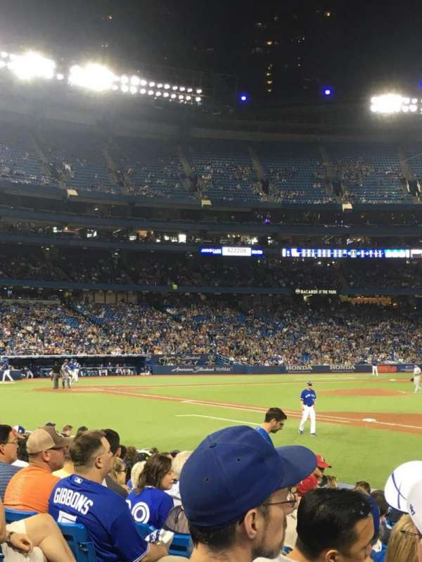 Rogers Centre, section: 114R, row: 13, seat: 6