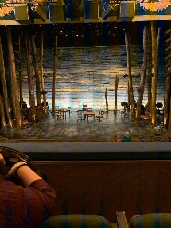 Gerald Schoenfeld Theatre, section: Mezzc, row: B, seat: 109