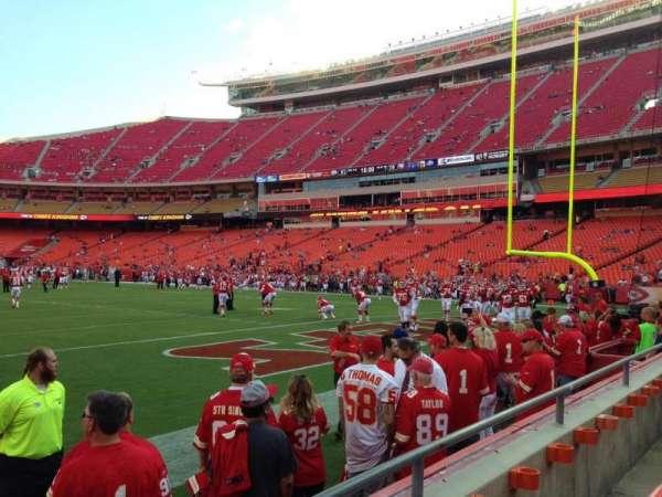 Arrowhead Stadium, section: 130, row: 2, seat: 5