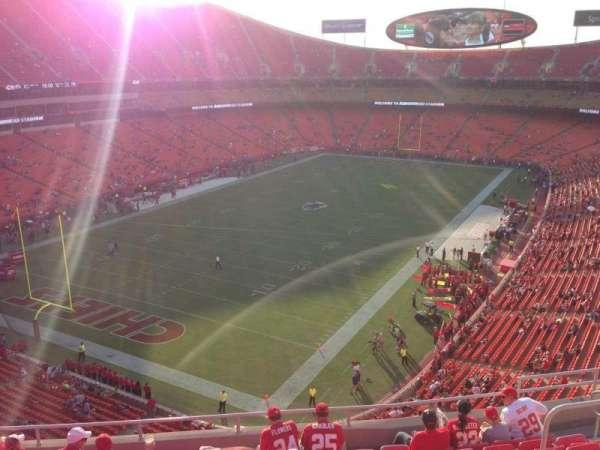 Arrowhead Stadium, section: 309, row: 9, seat: 10