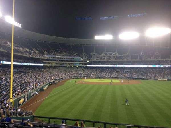 Kauffman Stadium, section: 251, row: LL, seat: 17