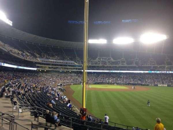 Kauffman Stadium, section: 249, row: GG, seat: 12